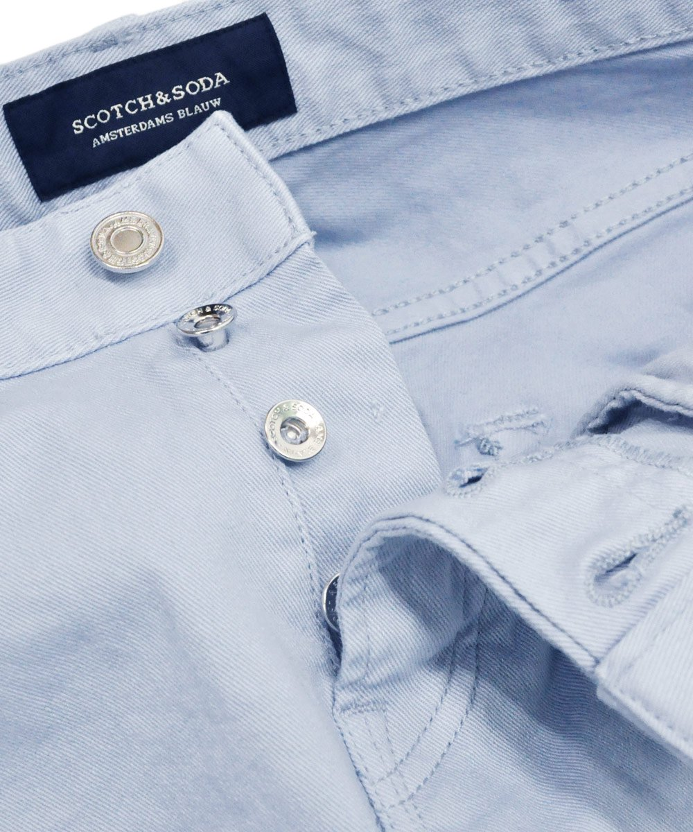 Ralston - Garment Dyed Jeans Regular slim fit / シュガーブルー [282-15515]