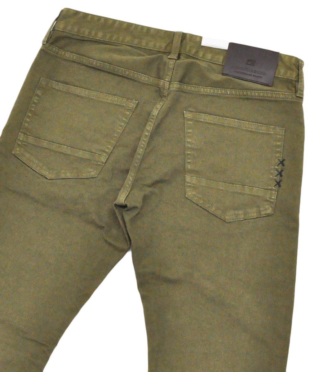 Ralston - Garment Dyed Jeans Regular slim fit / ミリタリーグリーン [282-15515]