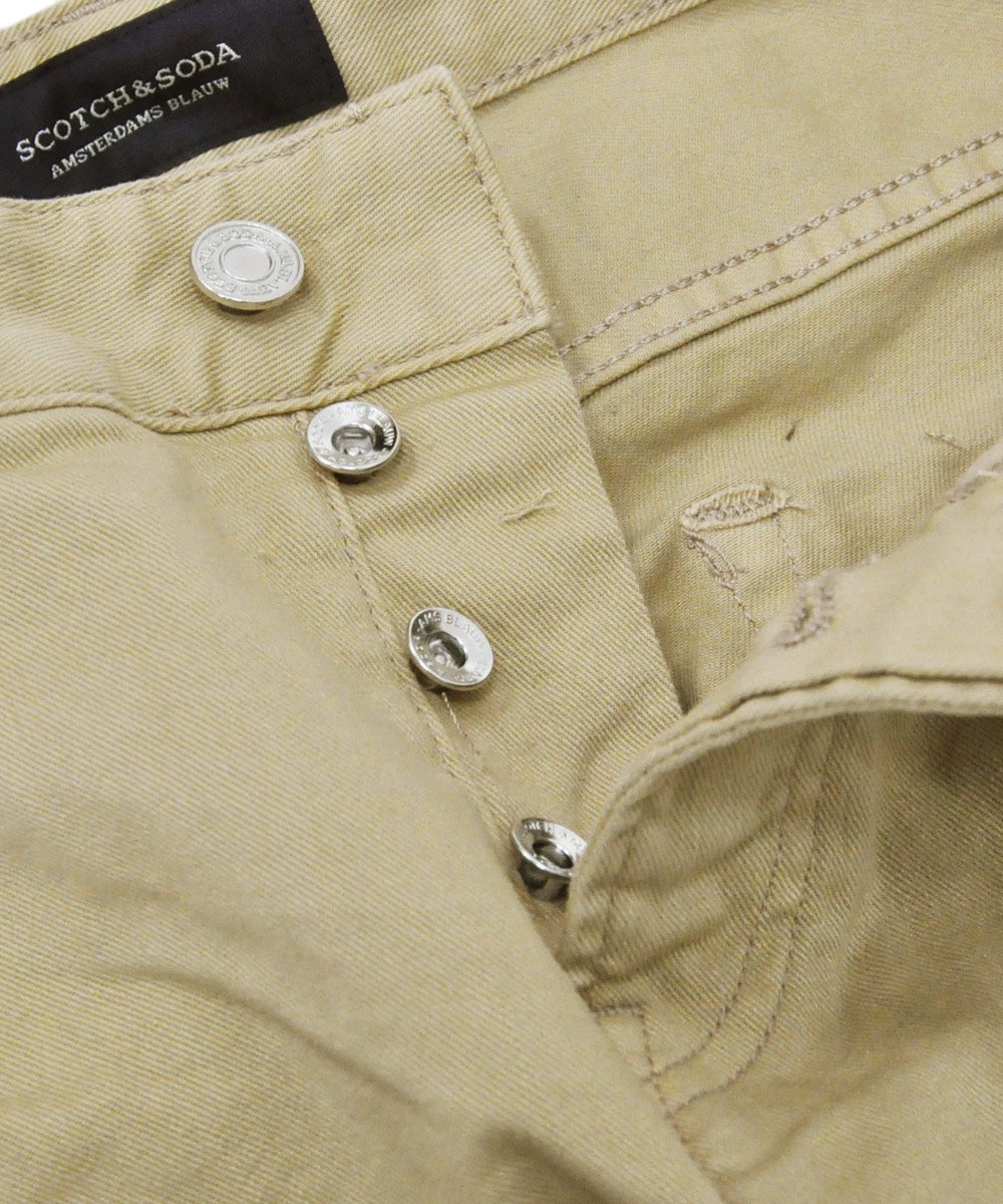 Ralston - Garment Dyed Jeans Regular slim fit / サンド [282-15515]