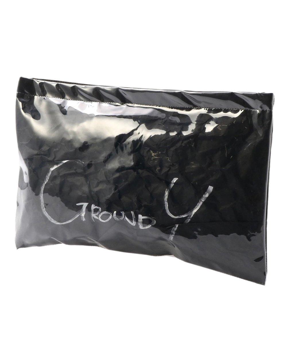 PVC CLUTCH BAG / ブラック [GA-I04-912-2-02]