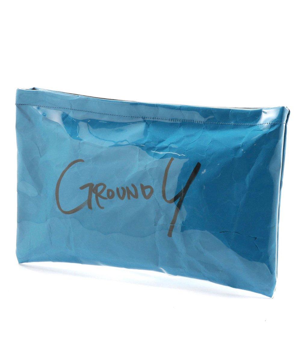 PVC CLUTCH BAG / ブルー [GA-I04-912-4-02]
