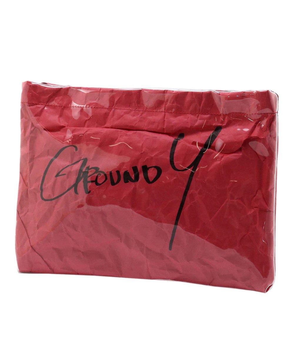 PVC CLUTCH BAG / レッド [GA-I04-912-3-02]