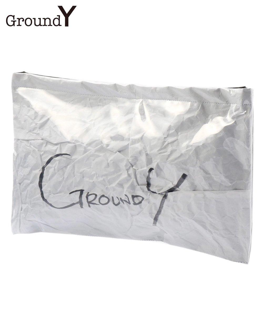 PVC CLUTCH BAG / ホワイト [GA-I04-912-1-02]