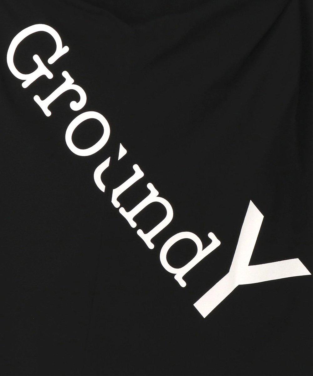 GROUND Y LOGO JUMBO TEE / ブラック [GA-T22-040-2-03]