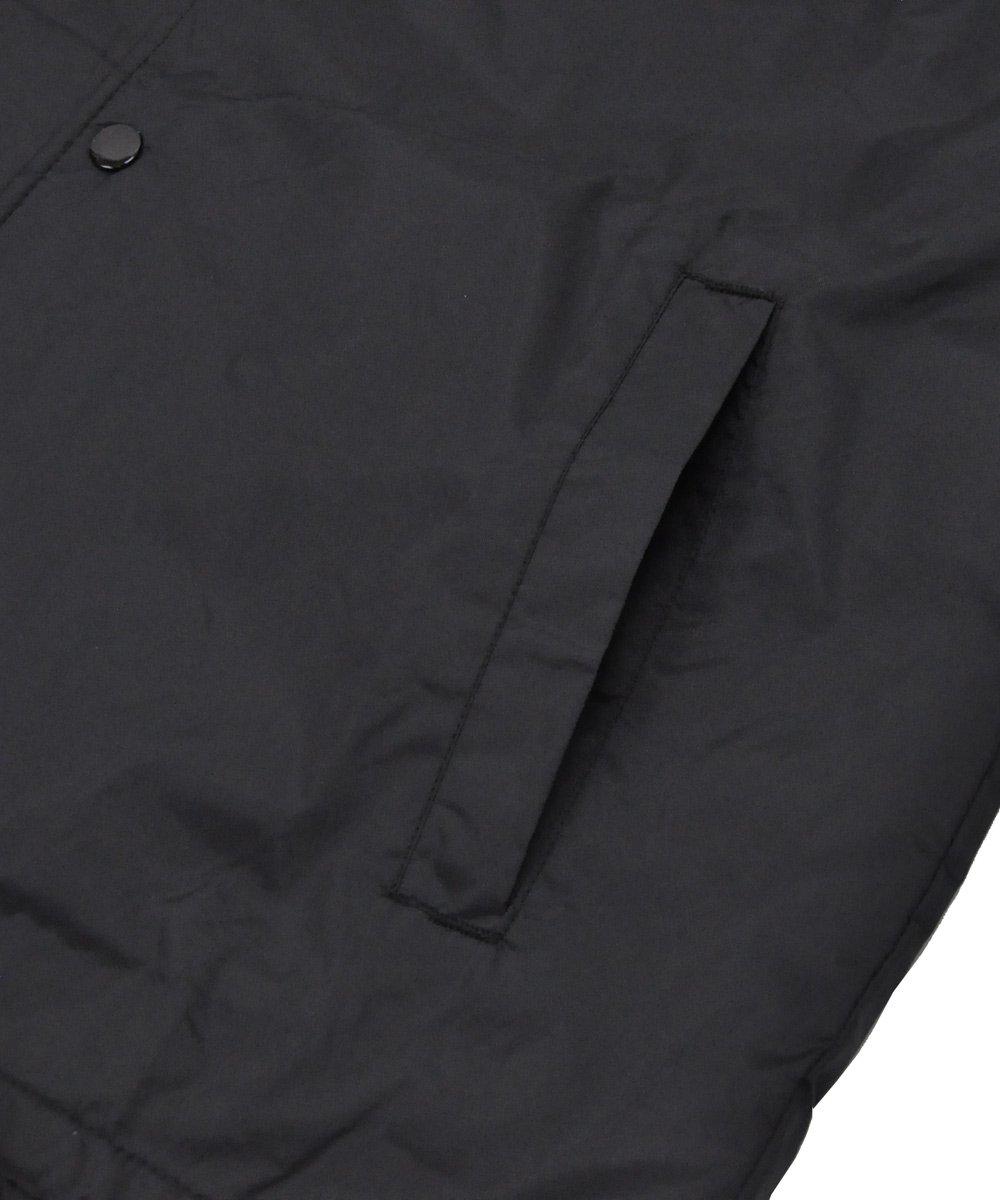 LOGO PRINT COACH JACKET / ブラック [GA-J53-600-1-03]