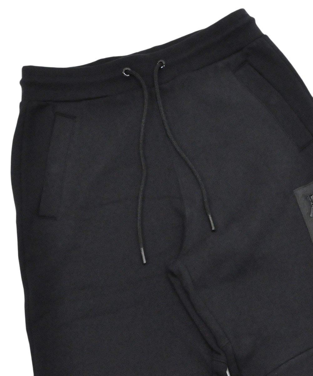 Regular Fit Sweatpants / ブラック [282-13501]