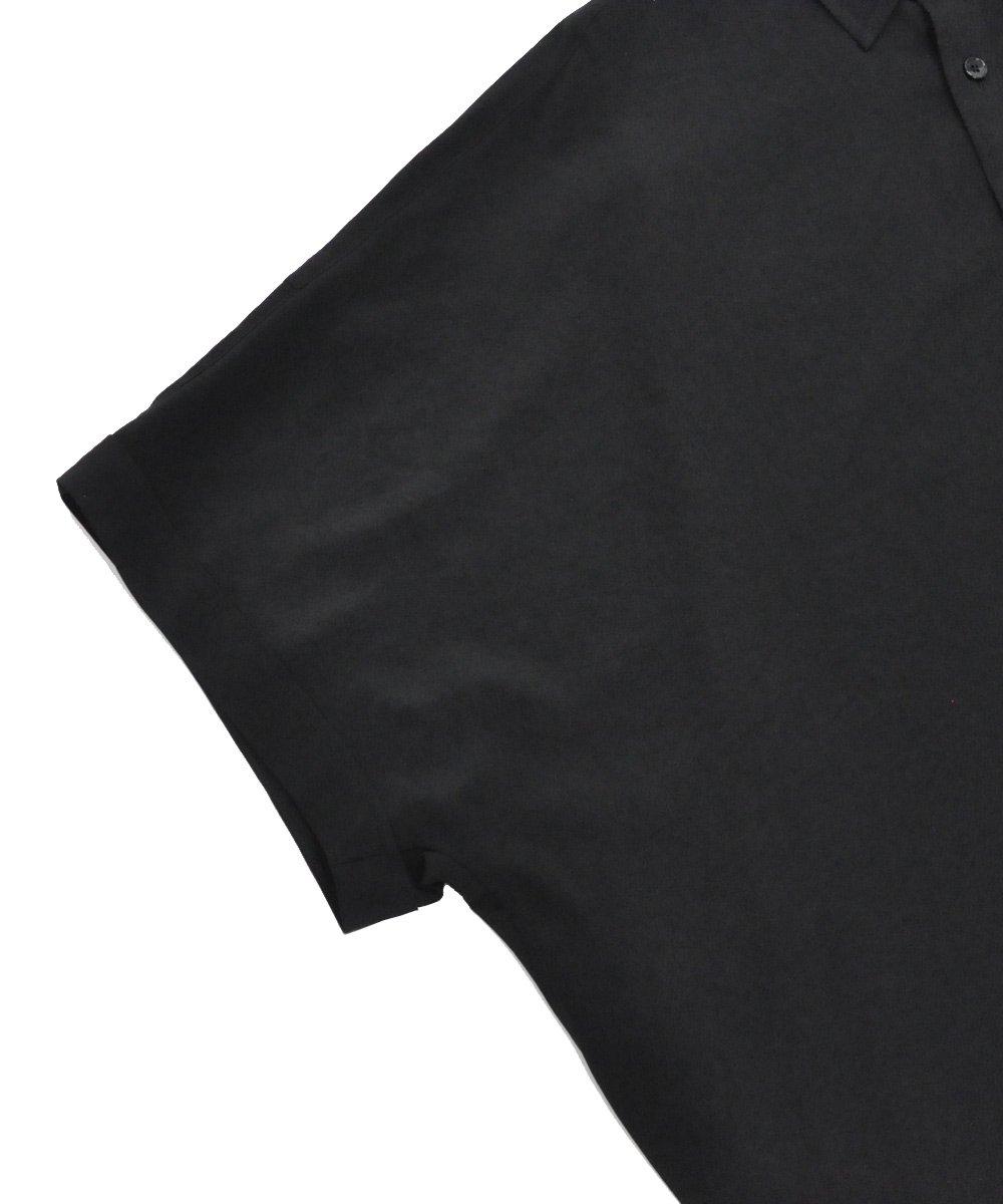 DOLMAN BIG SHIRT / ブラック [GN-B06-500-3-01]