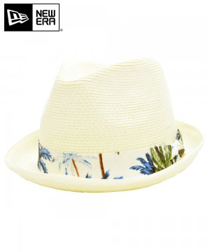 <img class='new_mark_img1' src='https://img.shop-pro.jp/img/new/icons61.gif' style='border:none;display:inline;margin:0px;padding:0px;width:auto;' />[OUTLET] EK by NEW ERA the FEDORA NATURAL PAPER ROPE ホワイトパームツリーバンド / ナチュラル [11225973]