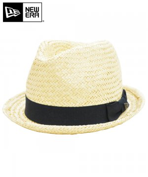 <img class='new_mark_img1' src='https://img.shop-pro.jp/img/new/icons61.gif' style='border:none;display:inline;margin:0px;padding:0px;width:auto;' />[OUTLET] EK by NEW ERA the FEDORA PALM STRAW HAT ブラックバンド / ナチュラル [11099765]