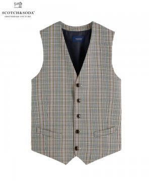 <img class='new_mark_img1' src='https://img.shop-pro.jp/img/new/icons5.gif' style='border:none;display:inline;margin:0px;padding:0px;width:auto;' />Patterned Waistcoat / チェック [292-12600]