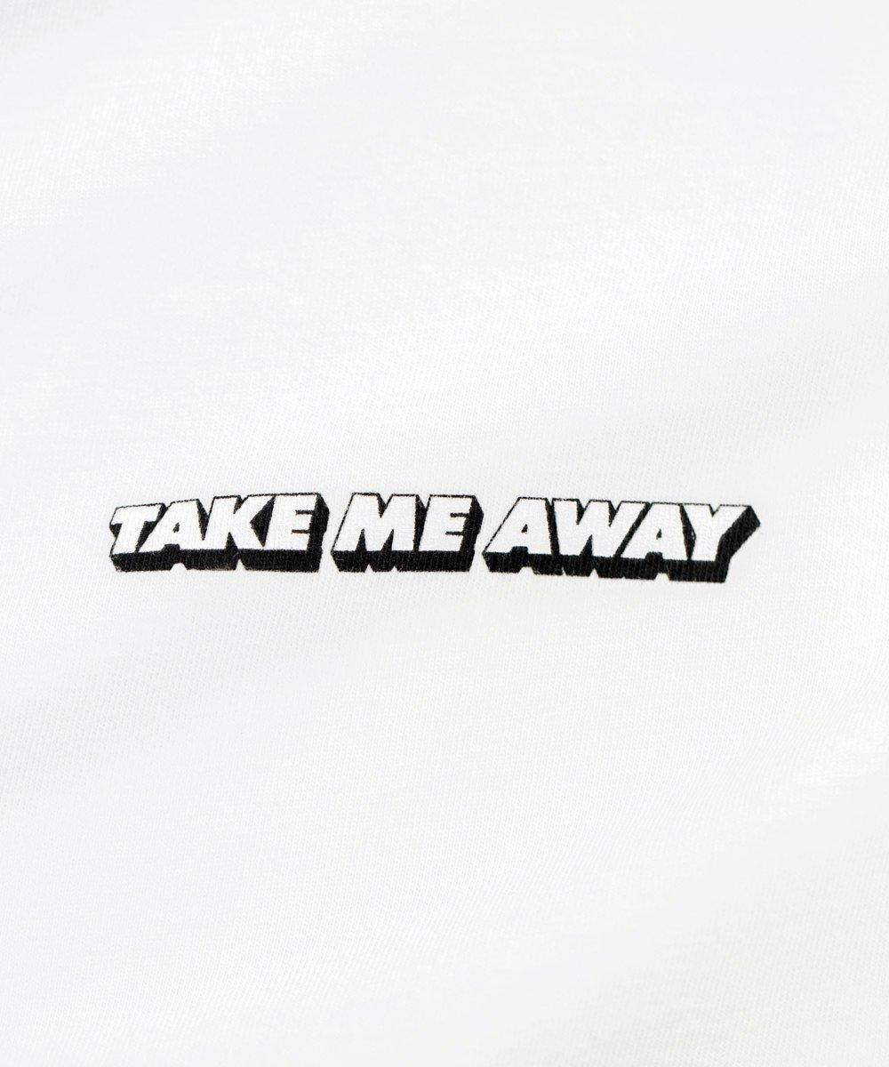 TAKE ME AWAY TEE / ホワイト [SLA-M2187TE]
