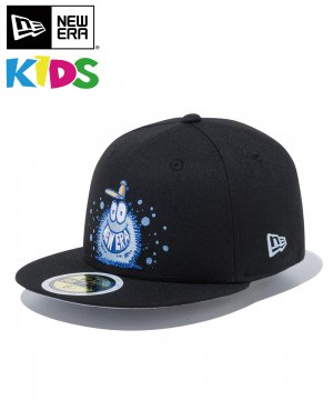 <img class='new_mark_img1' src='https://img.shop-pro.jp/img/new/icons61.gif' style='border:none;display:inline;margin:0px;padding:0px;width:auto;' />Kid's 59FIFTY Kevin Lyons ケヴィン・ライオンズ NEW ERA オリジナルロゴ / ブラック [12362092]