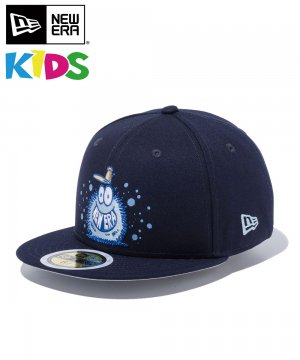 <img class='new_mark_img1' src='https://img.shop-pro.jp/img/new/icons61.gif' style='border:none;display:inline;margin:0px;padding:0px;width:auto;' />Kid's 59FIFTY Kevin Lyons ケヴィン・ライオンズ NEW ERA オリジナルロゴ / ネイビー [12362091]
