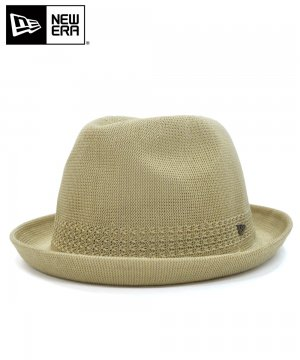 <img class='new_mark_img1' src='https://img.shop-pro.jp/img/new/icons61.gif' style='border:none;display:inline;margin:0px;padding:0px;width:auto;' />[OUTLET] EK by NEW ERA FEDORA KNIT / カーキ [12108718]