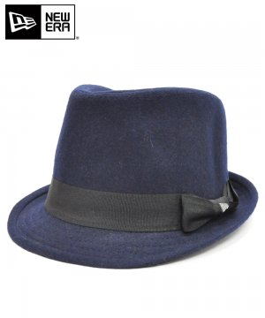 <img class='new_mark_img1' src='https://img.shop-pro.jp/img/new/icons61.gif' style='border:none;display:inline;margin:0px;padding:0px;width:auto;' />[OUTLET] EK by NEW ERA TRILBY MELTON ネイビー / ブラックバンド [E0000847]