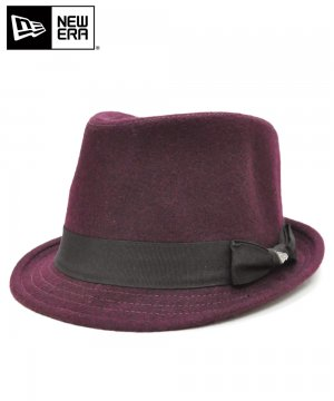 <img class='new_mark_img1' src='https://img.shop-pro.jp/img/new/icons61.gif' style='border:none;display:inline;margin:0px;padding:0px;width:auto;' />[OUTLET] EK by NEW ERA TRILBY MELTON ワイン / ブラックバンド [E0000849]