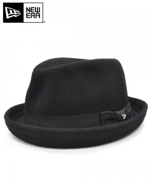 <img class='new_mark_img1' src='https://img.shop-pro.jp/img/new/icons61.gif' style='border:none;display:inline;margin:0px;padding:0px;width:auto;' />[OUTLET] EK by NEW ERA BIDWELL WOOL BLEND ブラック / ブラックバンド [E0000720]