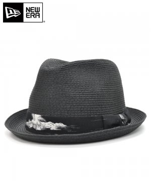 <img class='new_mark_img1' src='https://img.shop-pro.jp/img/new/icons61.gif' style='border:none;display:inline;margin:0px;padding:0px;width:auto;' />[OUTLET] EK by NEW ERA the TRILBY PALM STRAW HAT ブラックアロハバンド / ブラック [11557151]