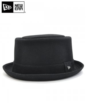 <img class='new_mark_img1' src='https://img.shop-pro.jp/img/new/icons61.gif' style='border:none;display:inline;margin:0px;padding:0px;width:auto;' />[OUTLET] EK by NEW ERA PORKPIE COTTON TWILL ブラック / ブラックバンド [E0000830]