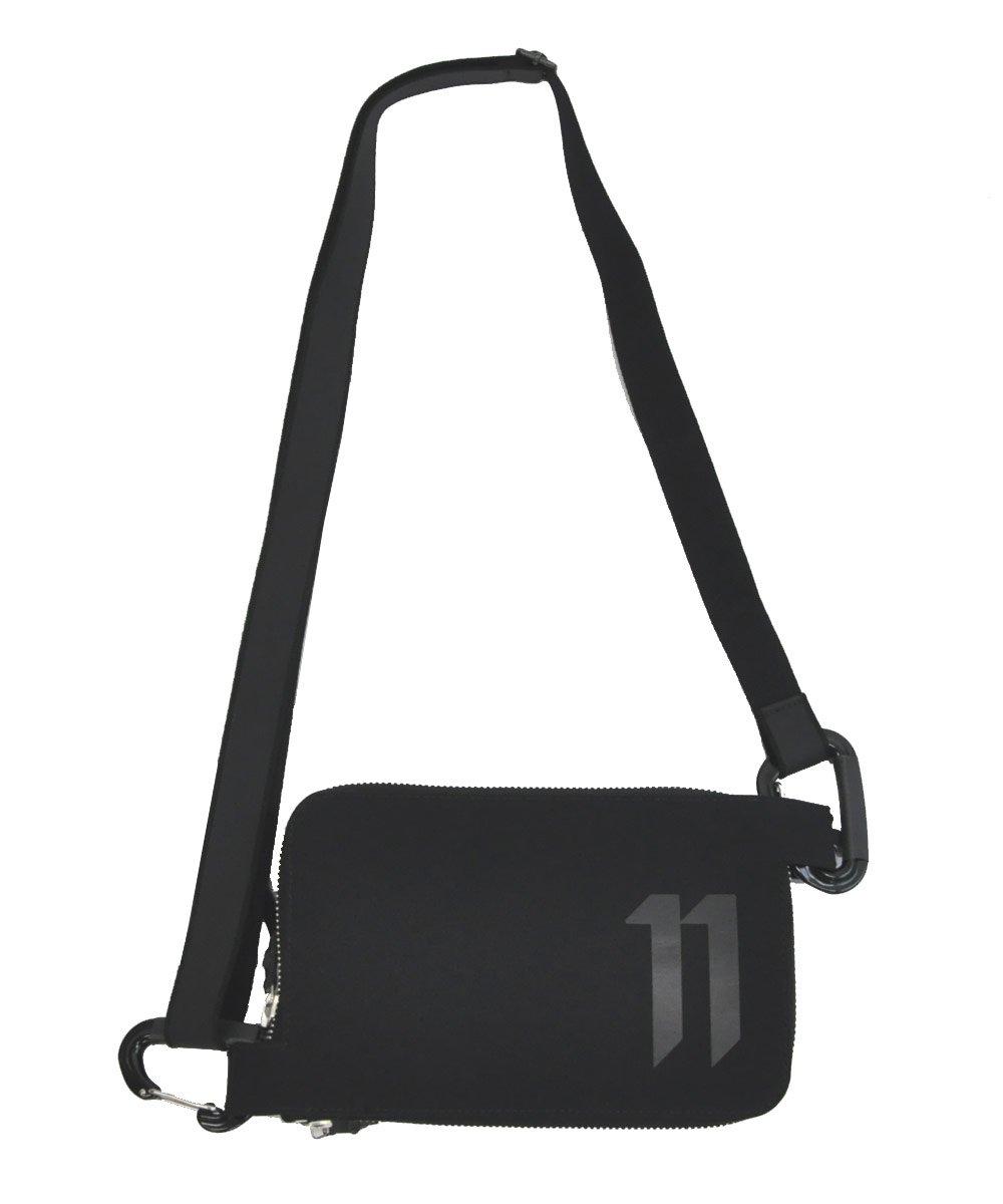 11LOGO SHOULDER BAG / ブラック [WALLET2 F-1317]