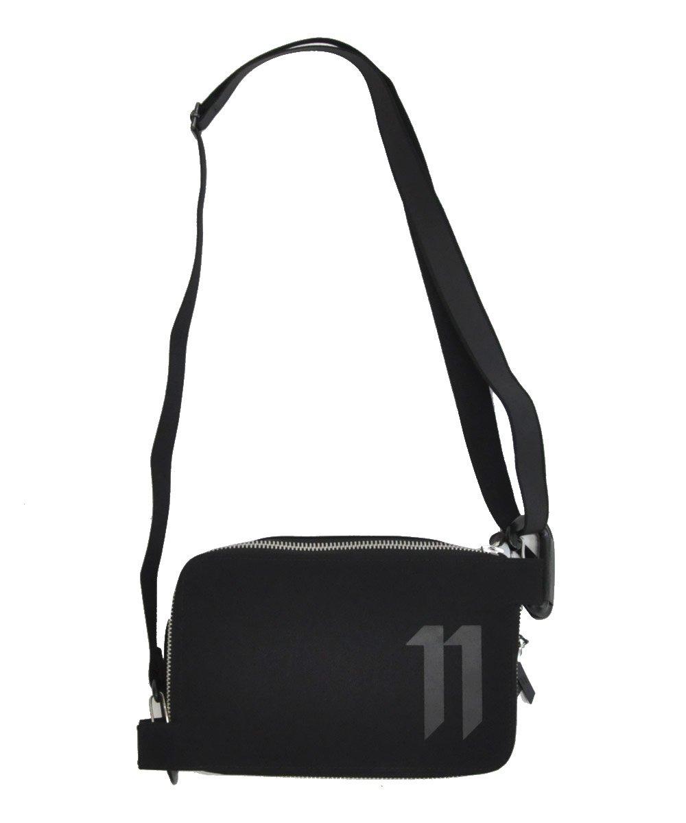 11LOGO SHOULDER BAG / ブラック [WALLET2B F-1317]