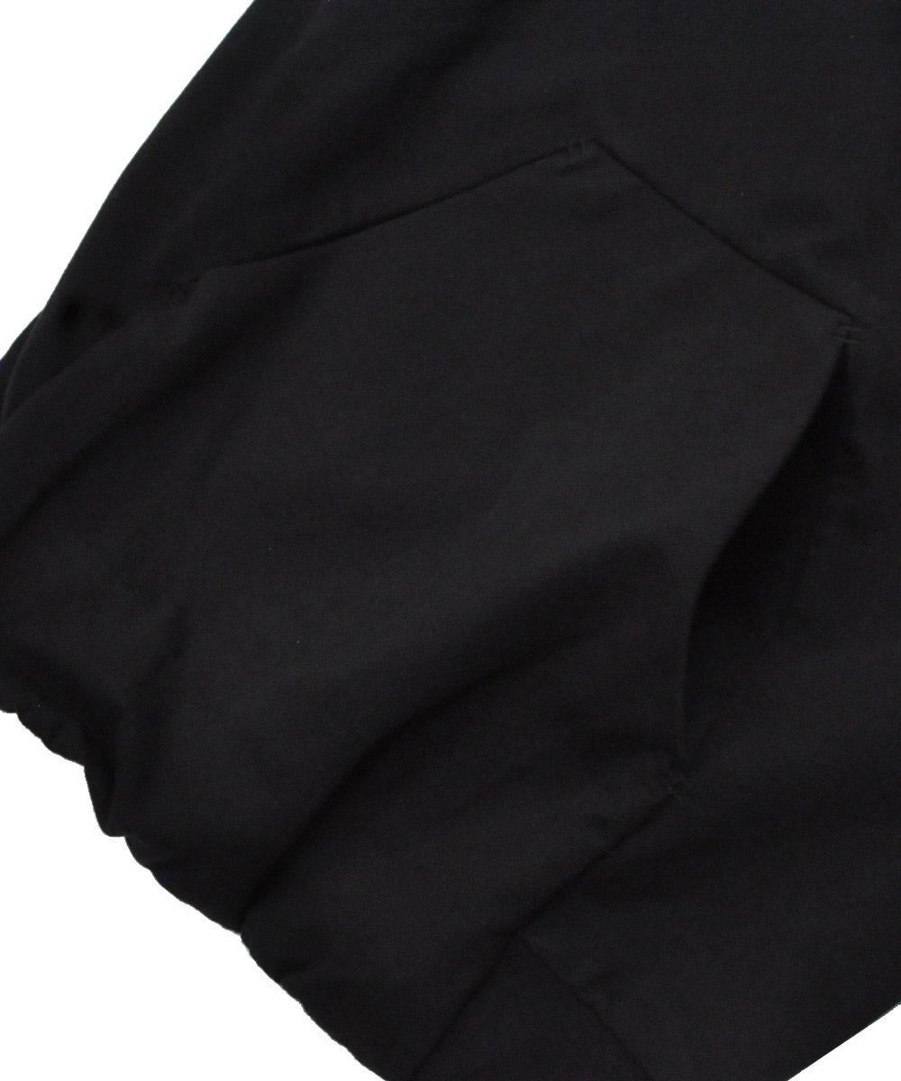11 LOGO MASK PULLOVER HOODIE / ブラック [H1B F-1229]