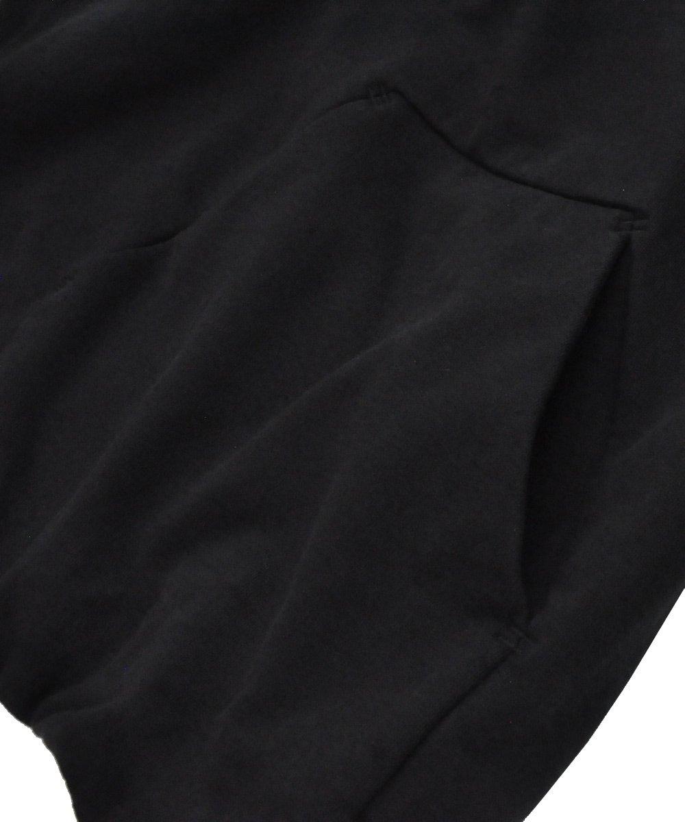 11 LOGO MASK PULLOVER HOODIE / ブラック [H1B F-1235 DON'T]