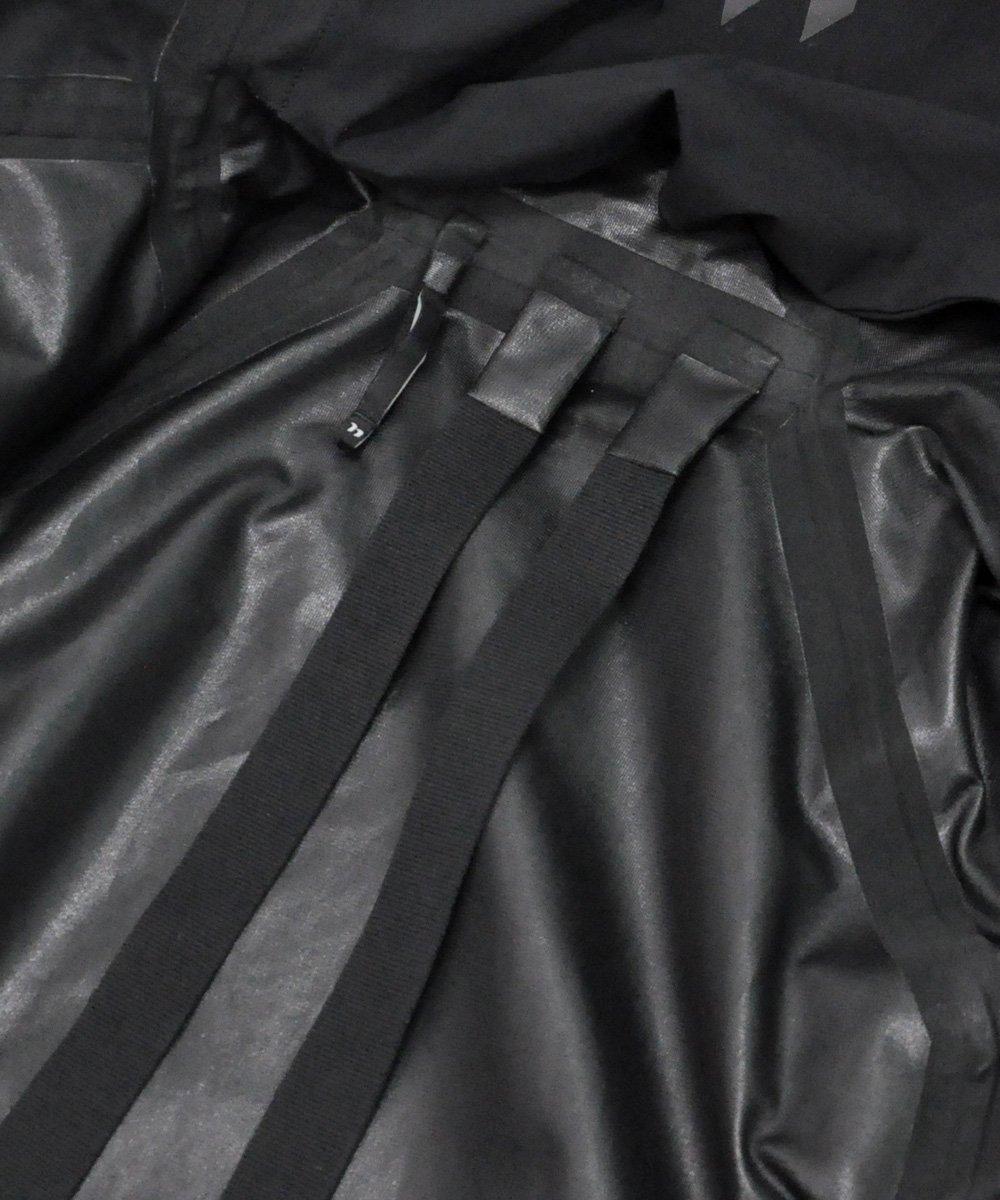 11 LOGO REFLECTIVE THERMOTAPE JACKET / ブラック [J10 F-1317]