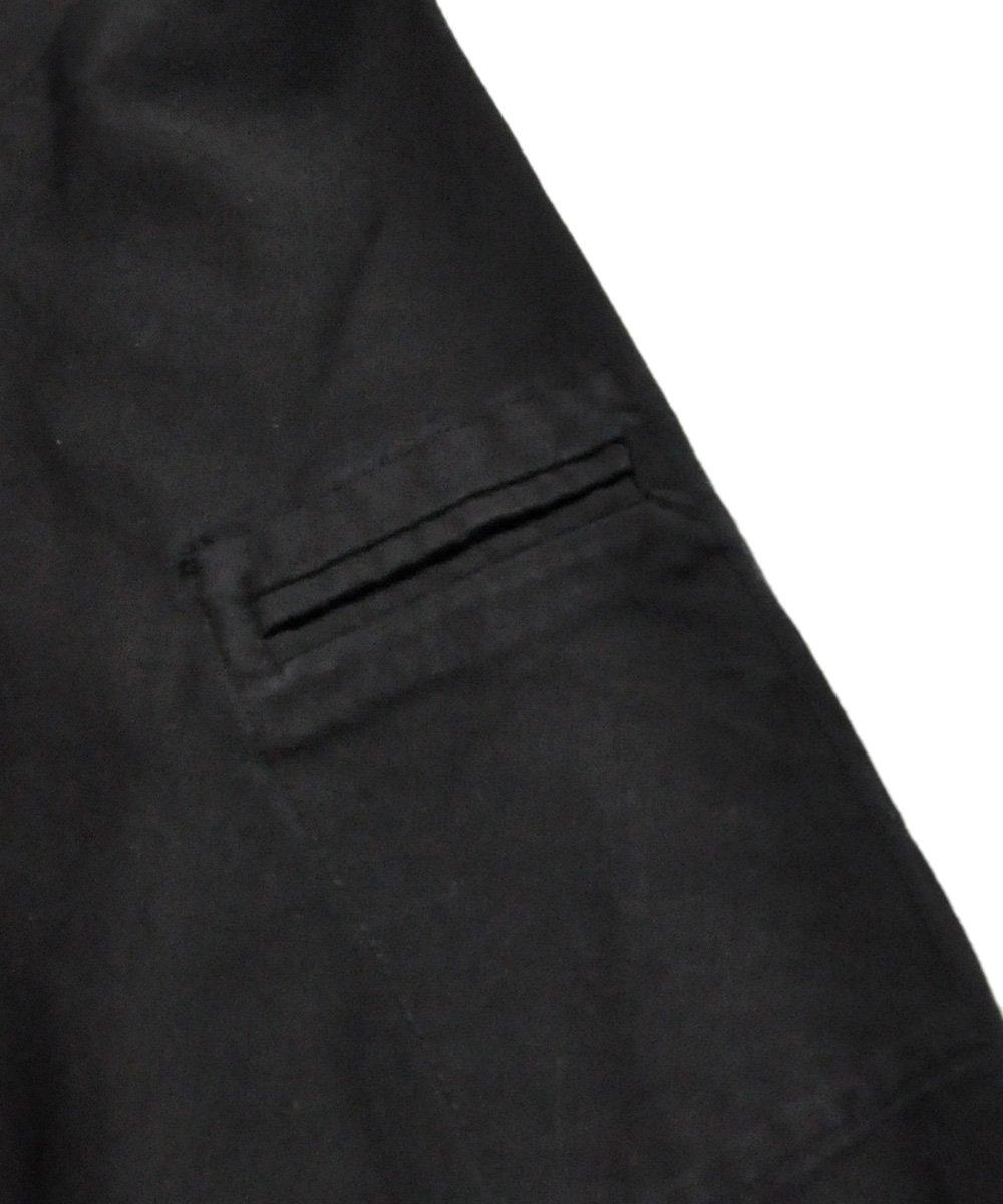 COTTON MILITARY JACKET / ブラック [S1B F-1447]