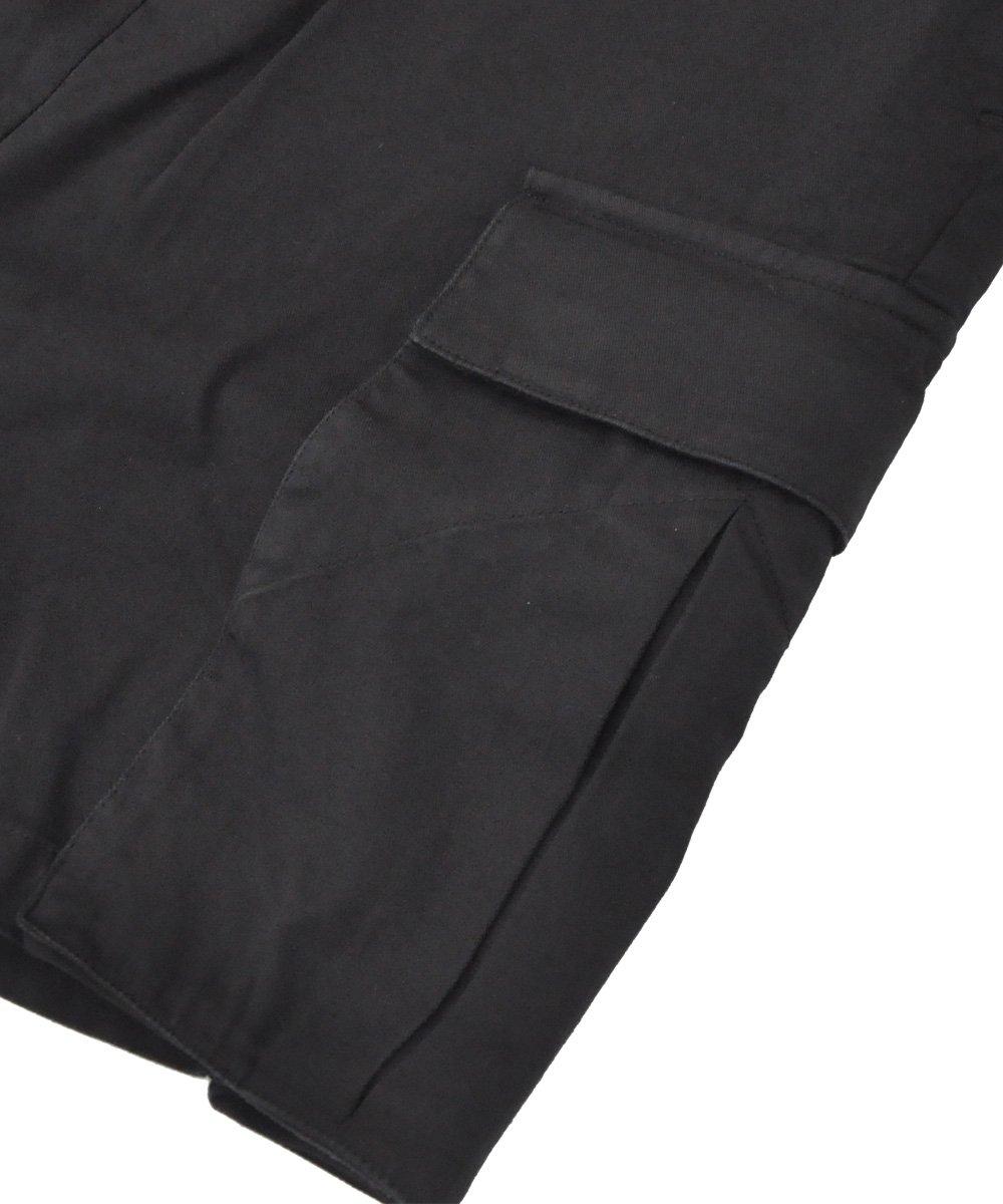 BLACK DYE CARGO SHORTS / ブラック [P20 F-1476]