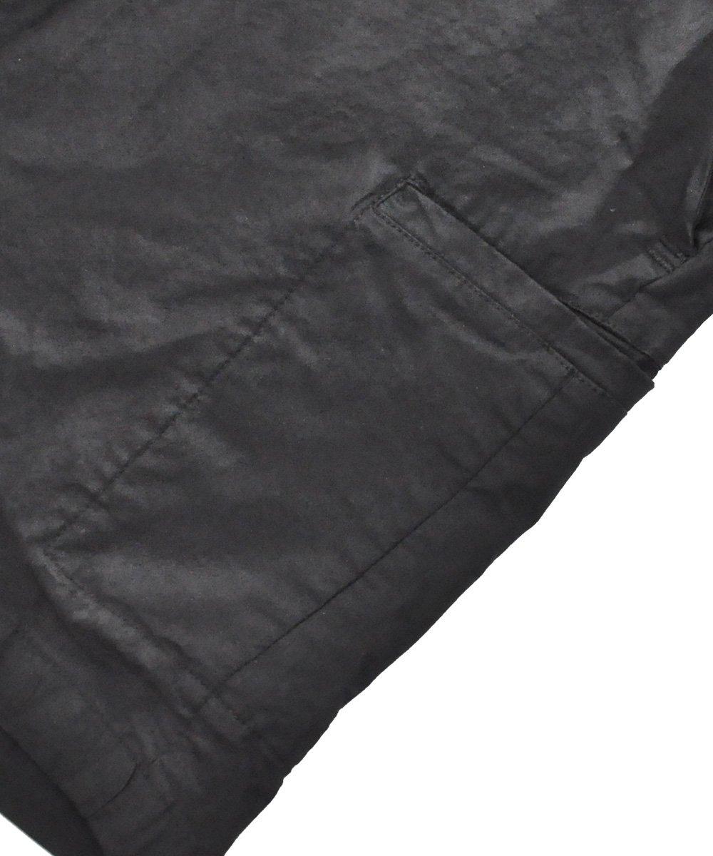 BLACK COATING EASY SHORTS / ブラック [P25 F-1426]
