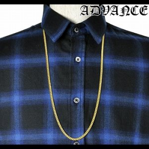 GOLD CHAIN NECKLACE / ゴールド [ARG-7503-A]