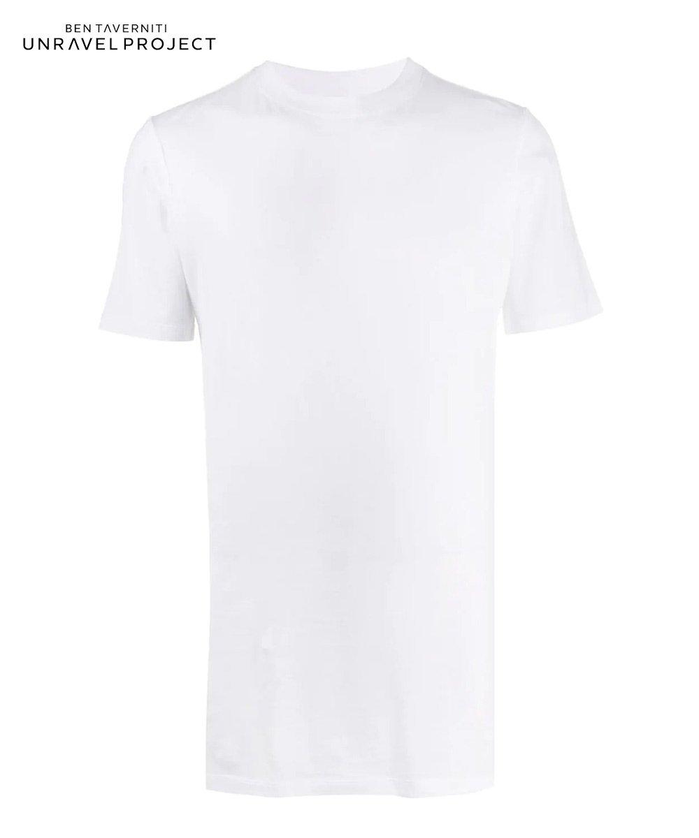 JERSEY ELONGETED T-SHIRT / ホワイト [UMAA010S20JER0010100]