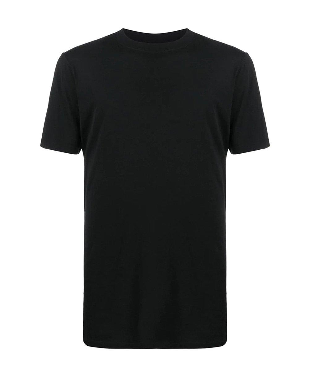 JERSEY ELONGETED T-SHIRT / ブラック [UMAA010S20JER0011000]