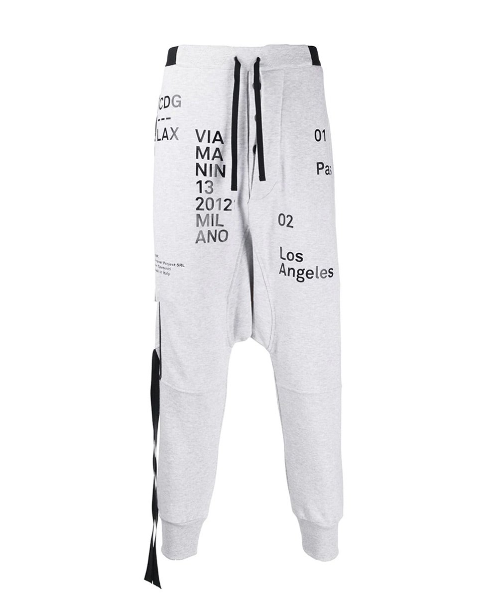 LAX DROP CROTCH PANTS / グレー [UMCH001S20FLE0010510]