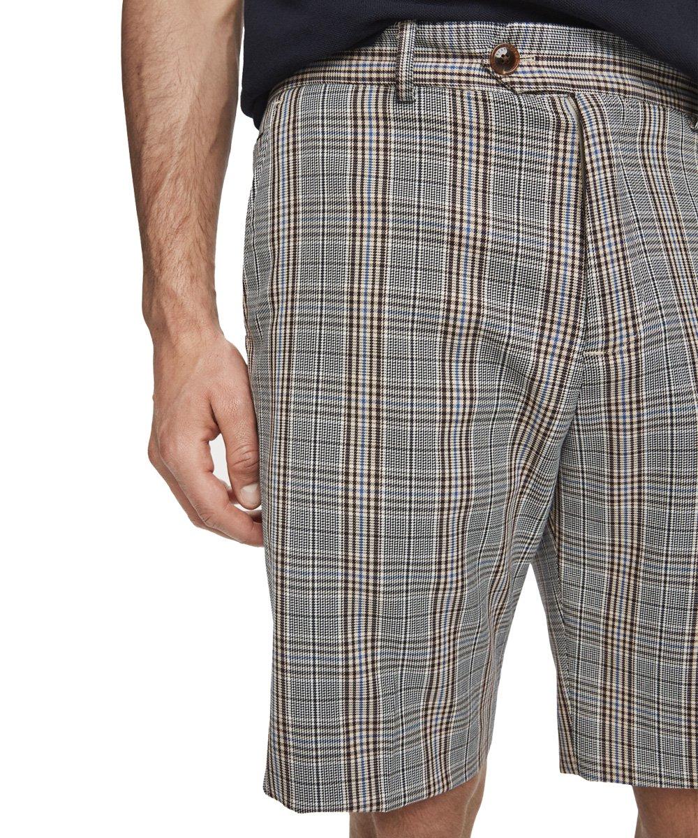 Patterned Dress Shorts / グレンチェック [292-12530]