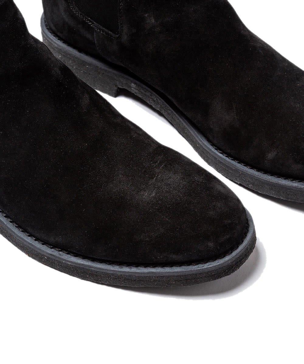 nonnative × MINEDENIM SIDE GORE BOOTS / ブラック(BLK) [NNT-BT001]
