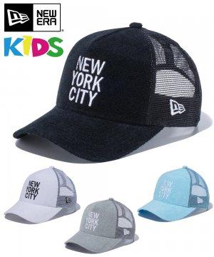 Kid's Youth 9FORTY A-Frame トラッカー パイル NEW YORK CITY スクエアロゴ / 4カラー