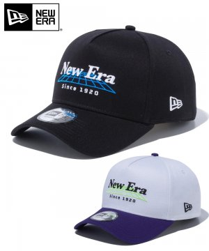 9FORTY グリッド A-Frame トラッカー New Era since 1920 ロゴ / 2カラー