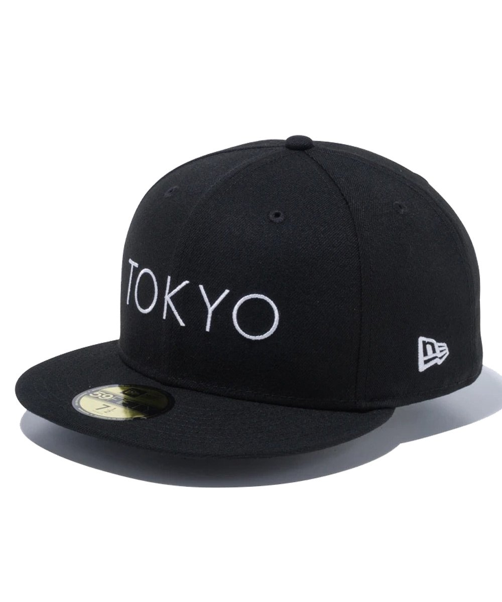 <img class='new_mark_img1' src='https://img.shop-pro.jp/img/new/icons61.gif' style='border:none;display:inline;margin:0px;padding:0px;width:auto;' />59FIFTY TOKYO ロゴ1 / ブラック [12533271]