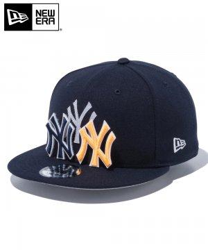 9FIFTY チェンジャブル バッジ ニューヨーク・ヤンキース / ネイビー [12514638]