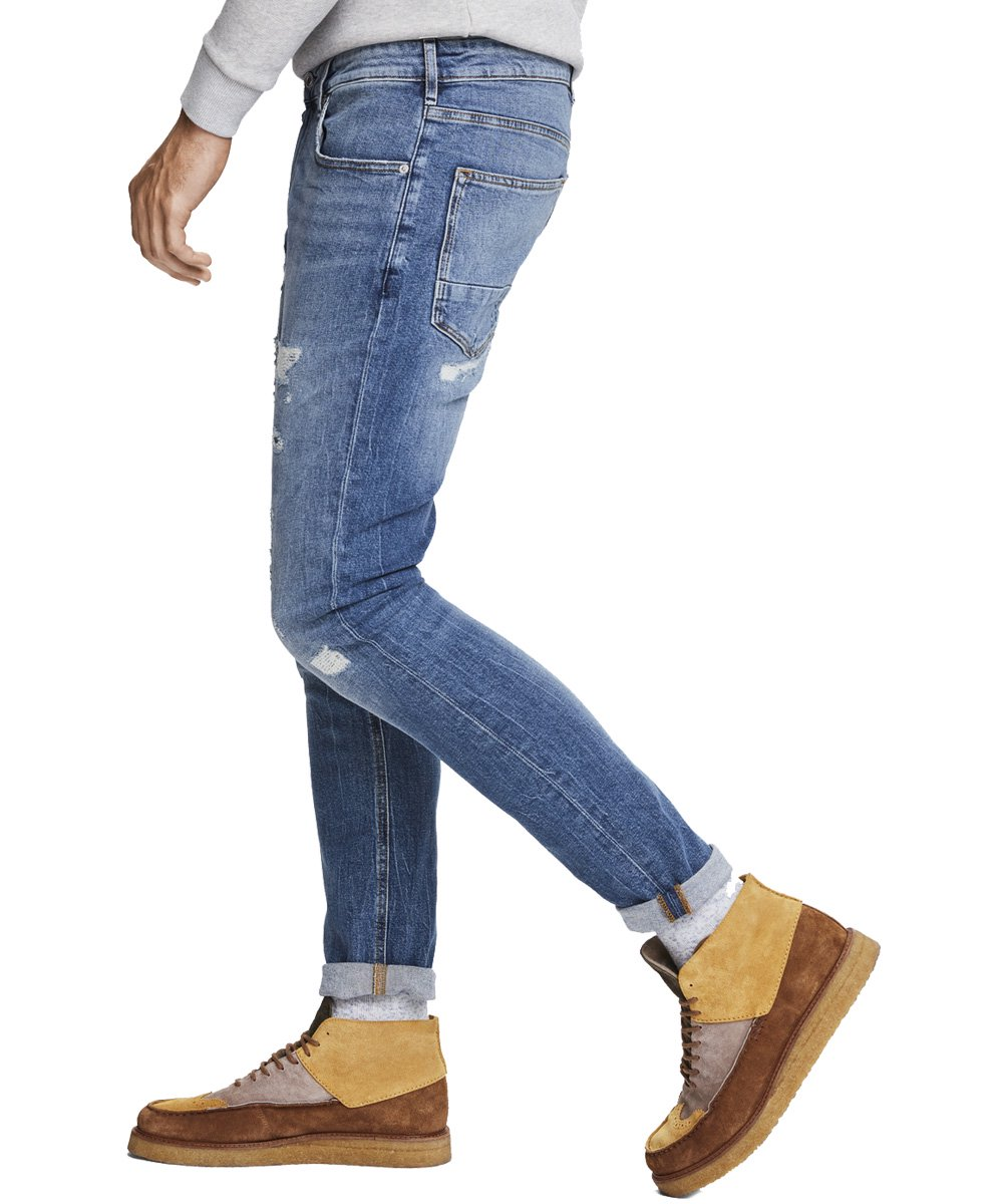 Skim - Touch of fall Skinny fit jeans / ブルー [282-25500]