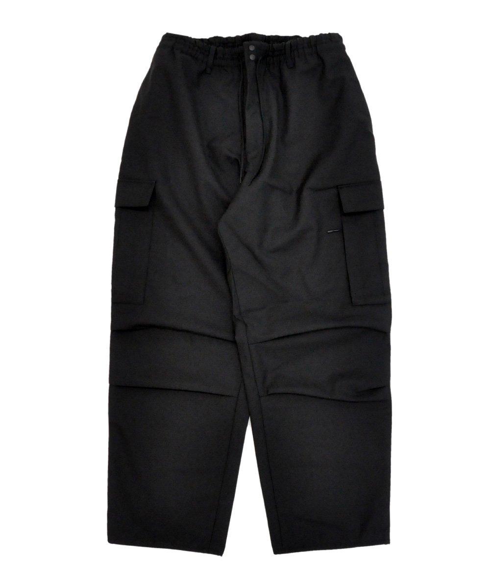 M CLASSIC WINTER WOOL CARGO PANTS / ブラック [GK4594]