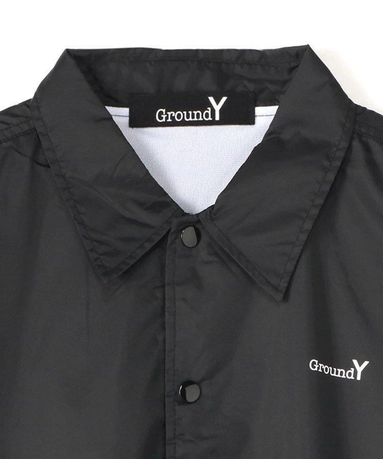 <img class='new_mark_img1' src='https://img.shop-pro.jp/img/new/icons5.gif' style='border:none;display:inline;margin:0px;padding:0px;width:auto;' />Random Logo Nylon Coach Jacket Type A / ブラック [GR-J50-950-1-03]