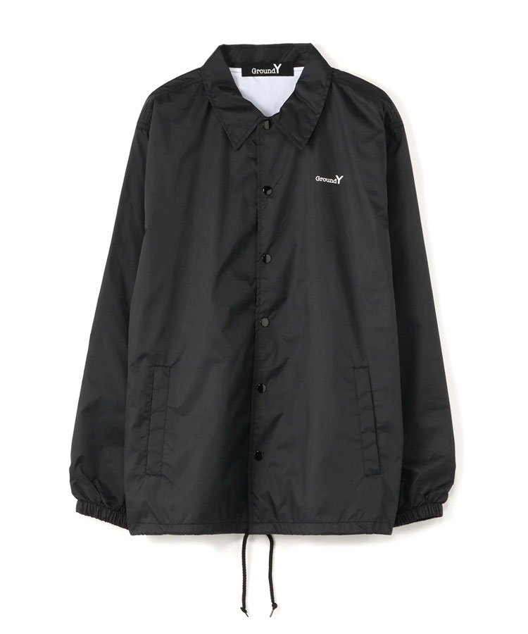 <img class='new_mark_img1' src='https://img.shop-pro.jp/img/new/icons5.gif' style='border:none;display:inline;margin:0px;padding:0px;width:auto;' />Random Logo Nylon Coach Jacket Type B / ブラック [GR-J51-950-1-03]