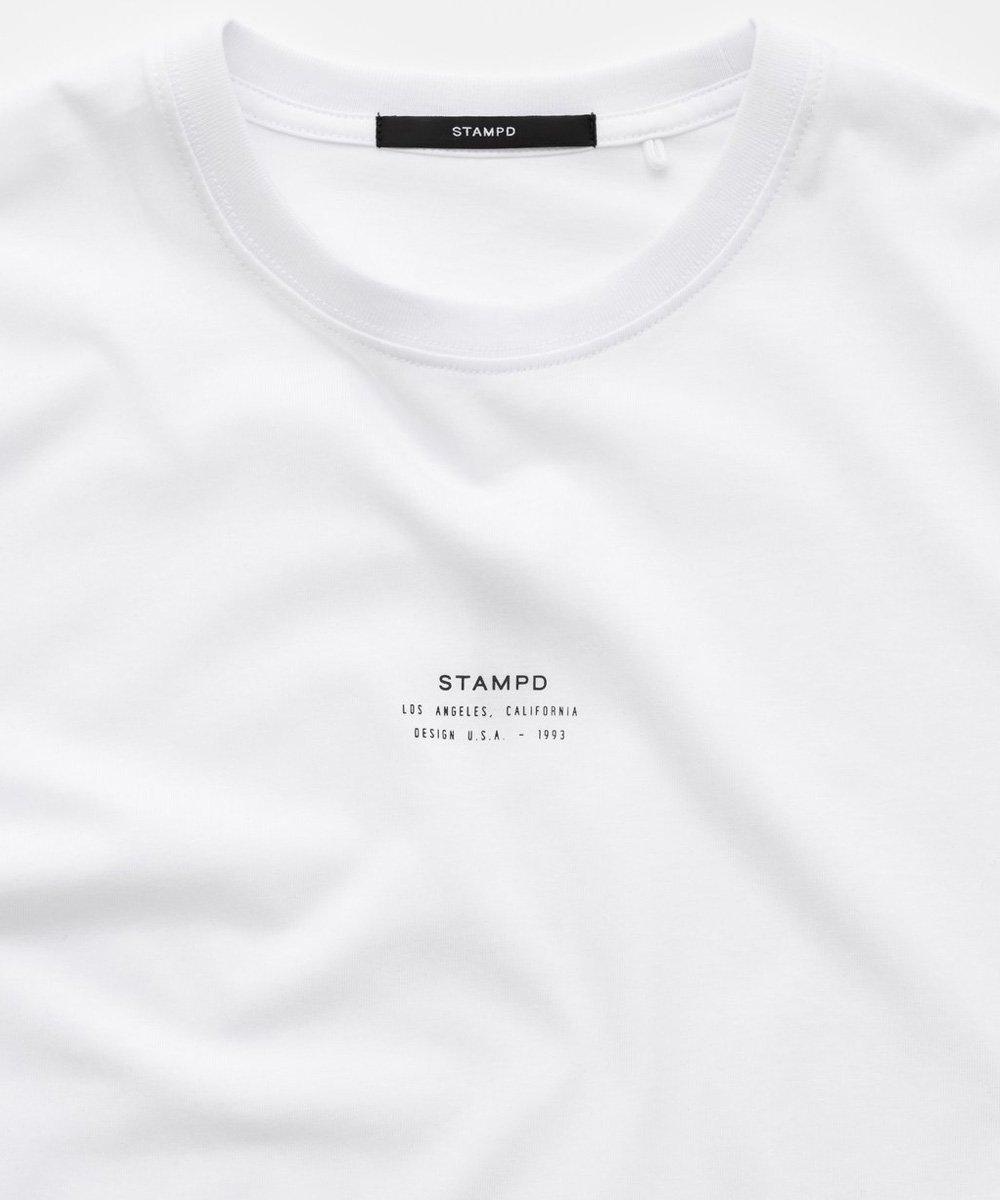 CORE LOGO STACK TEE / ホワイト [SLA-M2328TE]