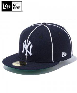 59FIFTY ニューヨーク・ヤンキース パイピング / ネイビー [12540867]