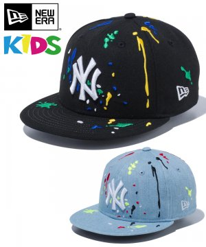 Kid's Youth 9FIFTY ニューヨーク・ヤンキース スプラッシュエンブロイダリー / 2カラー