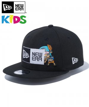 <img class='new_mark_img1' src='https://img.shop-pro.jp/img/new/icons61.gif' style='border:none;display:inline;margin:0px;padding:0px;width:auto;' />Kid's Youth 9FIFTY ONE PIECE ワンピース ボックスロゴ トニートニー・チョッパー / ブラック [12540974]
