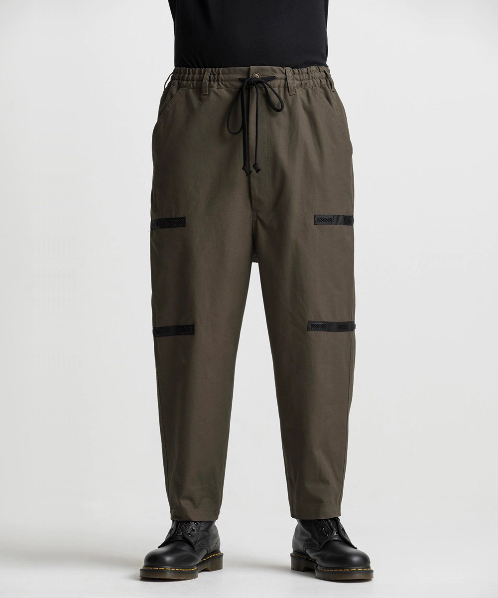 79A Cotton Canvas Back Tape Army Pants / カーキ [GR-P04-006-1-03]